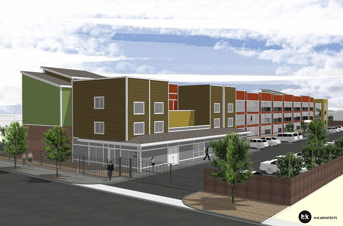 low income housing projects Former hedges st armory part of proposed 40-unit housing project for homeless, low-income.